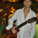 Egyptian Flamenco Guitarist