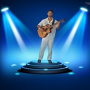 Egyptian Flamenco Guitarist 33
