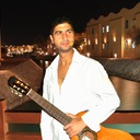 Egyptian Flamenco Guitarist 177_o