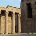 Idfu temple, It dedicated to Horus, the falcon headed god, it was built during the reigns of six Ptolemies