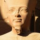 statue of AMUN in Karnak temple