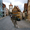 streets-in-rothenburg-germany