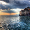 Chateau de chillon,Switzerland