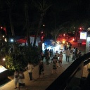 boracay beach walk at night