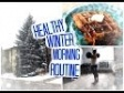 Winter Morning Routine + Healthy Waffle Recipe!